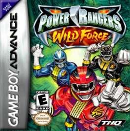 Power Rangers: Wild Force - GBA - Used