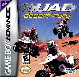 Quad Desert Fury - GBA - Used