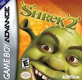 Shrek 2 - GBA - Used
