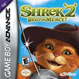 Shrek 2: Beg for Mercy - GBA - Used