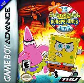 SpongeBob SquarePants Movie - GBA - Used