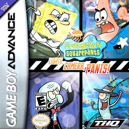 SpongeBob SquarePants: Lights, Camera, PANTS! - GBA - Used