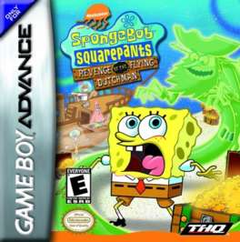 SpongeBob SquarePants: Revenge of the Flying Dutchman - GBA - Used