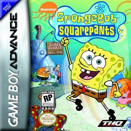 SpongeBob SquarePants: SuperSponge - GBA - Used