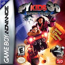Spy Kids 3-D: Game Over - GBA - Used