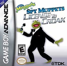 Spy Muppets: License to Croak - GBA - Used