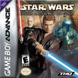 Star Wars: Episode II Attack of the Clones - GBA - Used
