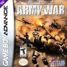 Super Army Wars - GBA - Used