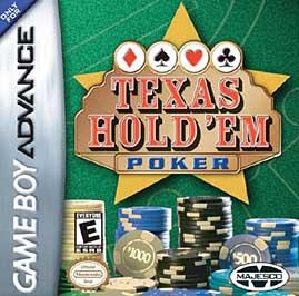 Texas Hold 'Em Poker - GBA - Used