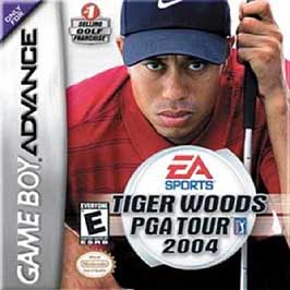 Tiger Woods PGA Tour 2004 - GBA - Used
