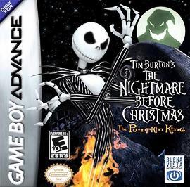 Tim Burton's The Nightmare Before Christmas: The Pumpkin King - GBA - Used