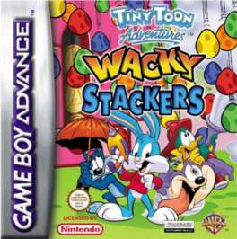 Tiny Toon Adventures: Wacky Stackers - GBA - Used