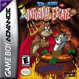 Tom and Jerry in Infurnal Escape - GBA - Used