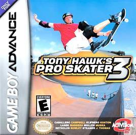 Tony Hawk's Pro Skater 3 - GBA - Used