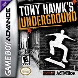 Tony Hawk's Underground - GBA - Used