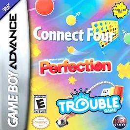 Trouble / Connect Four / Perfection - GBA - Used