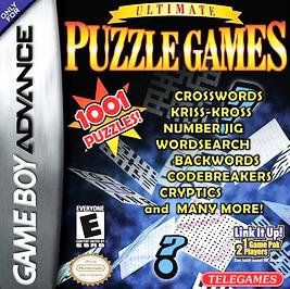 Ultimate Puzzle Games - GBA - Used