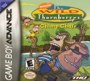 Wild Thornberrys: Chimp Chase - GBA - Used