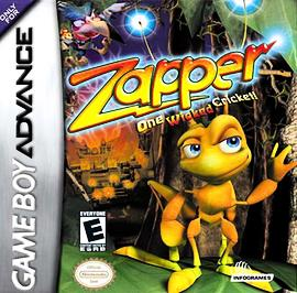 Zapper: One Wicked Cricket - GBA - Used