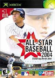 All-Star Baseball 2004 - XBOX - Used