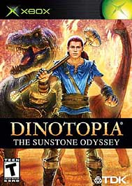 Dinotopia: The Sunstone Odyssey - XBOX - Used