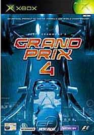 Geoff Crammond's Grand Prix 4 - XBOX - Used