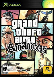 Grand Theft Auto: San Andreas (Second Edition) - XBOX - Used