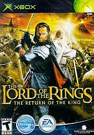 Lord of the Rings: The Return of the King - XBOX - Used