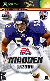 Madden NFL 2005 - XBOX - Used