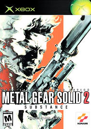 Metal Gear Solid 2: Substance - XBOX - Used
