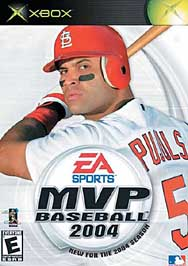 MVP Baseball 2004 - XBOX - Used