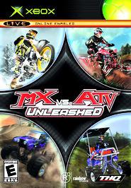 MX vs. ATV Unleashed - XBOX - Used