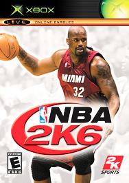 NBA 2K6 - XBOX - Used