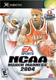 NCAA March Madness 2004 - XBOX - Used