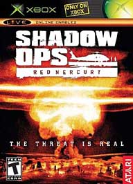 Shadow Ops: Red Mercury - XBOX - Used