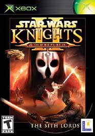 Star Wars Knights of the Old Republic II: The Sith Lords - XBOX - Used