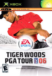Tiger Woods PGA Tour 06 - XBOX - Used