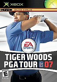 Tiger Woods PGA Tour 07 - XBOX - Used