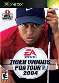 Tiger Woods PGA Tour 2004 - XBOX - Used