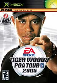 Tiger Woods PGA Tour 2005 - XBOX - Used