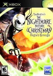 Tim Burton's The Nightmare Before Christmas: Oogie's Revenge - XBOX - Used