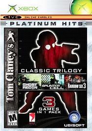 Tom Clancy's Classic Trilogy - XBOX - Used