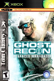 Tom Clancy's Ghost Recon Advanced Warfighter - XBOX - Used