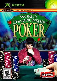 World Championship Poker - XBOX - Used