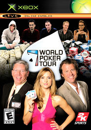 World Poker Tour - XBOX - Used