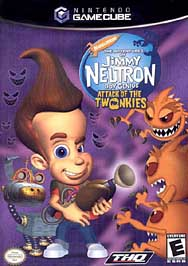 Adventures of Jimmy Neutron, Boy Genius: Attack of the Twonkies - GameCube - Used