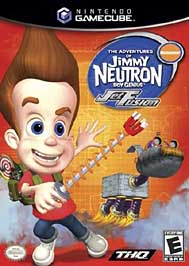 Adventures of Jimmy Neutron, Boy Genius: Jet Fusion - GameCube - Used
