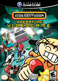 Codename: Kids Next Door - Operation: V.I.D.E.O.G.A.M.E. - GameCube - Used