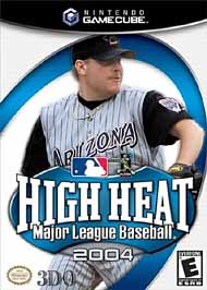 High Heat Major League Baseball 2004 - GameCube - Used