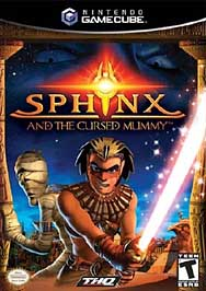 Sphinx and the Cursed Mummy - GameCube - Used